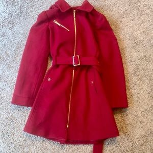 ❤️Michael Kors Red Pea Coat/Jacket